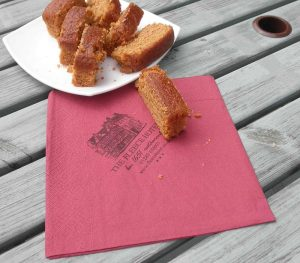 customised serviettes