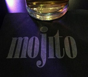 printed bar napkins